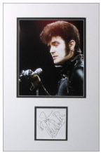Alvin Stardust Autograph Signed Display